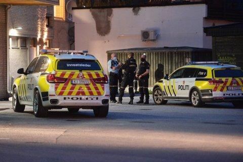 Politiet rykket lørdag kveld til Hokksund etter melding om et innbrudd i en bolig.