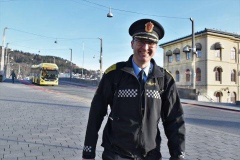 Fungerende politimester i Sør-Øst politidistrikt, Ole Bredrup Sæverud, sier han har blitt glad i politidistriktet.