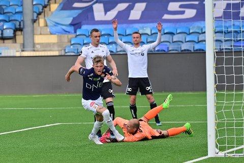 Halldor Stenevik scoret det avgjørende målet mot RBK.