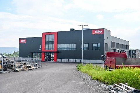 KONKURS: Det nyeste anlegget til Extra Servicepartner i Hanekleiva i Sande.