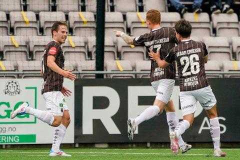 SEIER: Mjøndalen spilte en solid kamp mot Haugesund lørdag kveld.