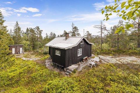 Etter en visning ble hytta ved Storsteinsfjell solgt over prisantydning.