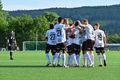 GJORDE JOBBEN: Mjøndalen tok seg videre i cupen etter seier mot Åssiden