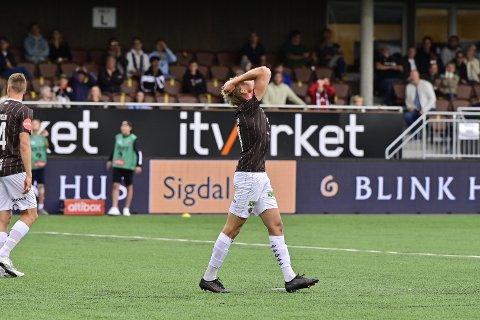TAPTE: Mjøndalen imponerte, men klarte likevel ikke hente poeng i oppgjøret mot Rosenborg søndag.