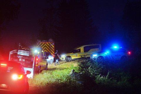 AVSLUTTET: Den mulige redningsaksjonen i Vestfossen er avsluttet, melder politiet.