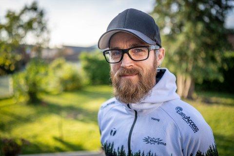 SYKLIST: Morten Vaeng har både barn og fulltidsjobb, men rekker fortsatt å tilbakelegge en del mil på sykkelen hver uke.
