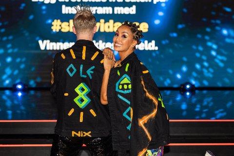 VIDERE: Royane Harkati fra Drammen og partner Ole Thomas Hansen gikk videre i kveldens utgave av Skal vi danse.