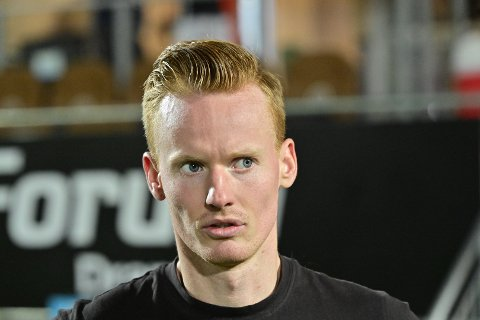 MIF-SPILLER: Martin Rønning Ovenstad fikk én omgang på banen da de brune tok i mot Sandefjord.