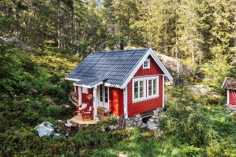 Sauesetra 40 fikk nettopp nye eiere i Trine Pedersen og Lars Ribert Andersen.