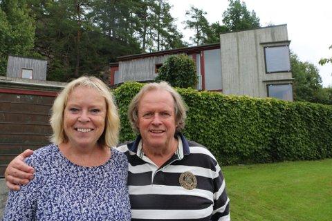 Kirsten og Rune Drægni.