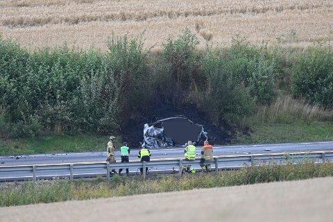 Politiets etterforskere vet nå hvem som omkom i ulykken i Spikkestad.