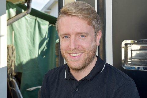 SJÅFØR: Frank Tore Larsen var i utgangspunktet ferdig med rally, men ombestemte seg da koronaviruset inntraff.