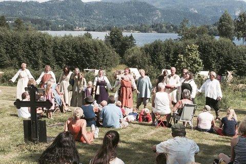 Middelalderdager: Fra onsdag til og med søndag inviteres eikværingene til middelalderdager på Fiskum.         Foto: Forbilde 2015