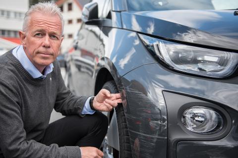 - Klassiske P-smeller er at man bulker med faste installasjoner, stolper, skilt, vegger, andre parkerte kjøretøyer samt andre kjøretøyer i trafikk, sier Arne Voll, kommunikasjonssjef i Gjensidige.