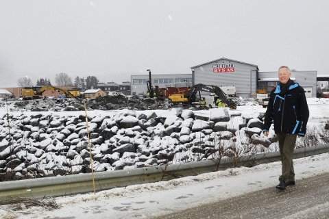 I Rute: Det meste går på skinner om dagen for Hypteck i Skotselv. - Vi hadde rekordomsetning i 2015, og vi skal i løpet av ett års tid flytte inn i nye og funksjonelle lokaler her på Prestebråtan, sier daglig leder, Steinar Haugerud.