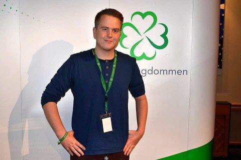 VIL FORTSETTE: Magnus Weggesrud ønsker seg fortsatt en rolle i rikspolitikken. ARKIVFOTO: Boel Kristin Støvern