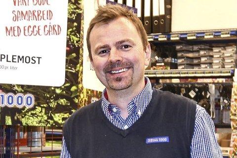 HOKKSUND: Bjørn Vegard Augdahl håper flere lokale matprodusenter tar kontakt.