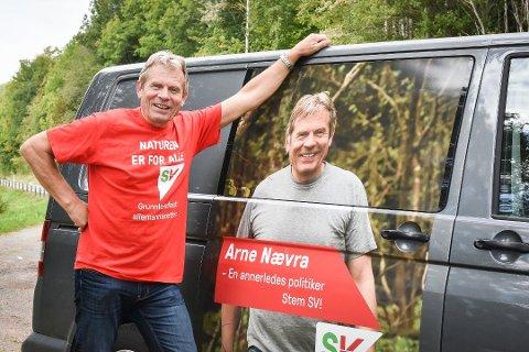 POSITIV: Stortingsrepresentant Arne Nævra vil sette Nøstetangen Norsk Glassmuseum på nasjonal dagsorden.