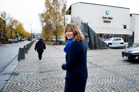 HAR HÅP: Ann Sire Fjerdingstad er ordfører for Høyre i Øvre Eiker. Selv om det ser vel så mørkt ut, har hun ennå ikke gitt opp å bevare Hassel fengsel.