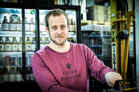 Jonas Jensen i Eiker Ølfabrikk