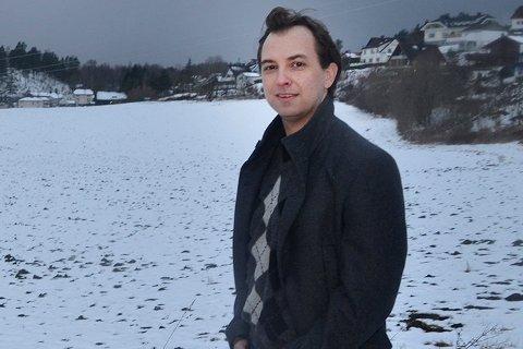 Sp-leder i Øvre Eiker, Kim Mogen Myhre. Bildet er tatt i en annen sammenheng.