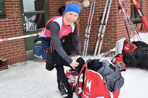LEGEPLANER: Helene Marie Fossesholm satser på å studere medisin -  parallelt med skikarrieren.