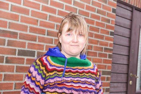 I FARTA: Reidun Eli Nylehn er konstituert som leder for Eiker Rødt. Etter de interne stridighetene i Nedre Eiker Ap så har hun fått mange oppfordringer om å stå i spissen for ett rødt alternativ.