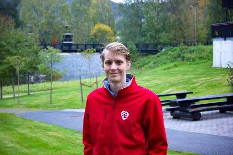 PÅ TOPP: Niclas Tokerud kan bli en av Norges yngste ordførere.