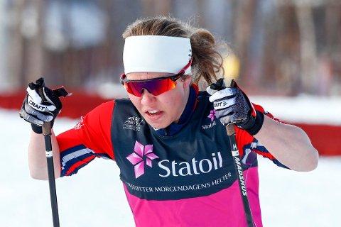 DEBUT: Helene Marie Fossesholm debuterer i verdenscupen på Lillehammer lørdag.