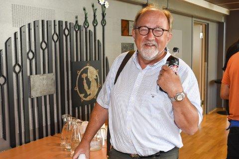 EIENDOMSSKATT: Hans Kristian Sveaas advarer mot at innbyggerne i Øvre Eiker skal betale eiendomsskatt.
