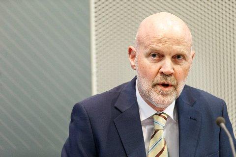 NY RAPPORT: Finanstilsynet med direktør Morten Baltzersen i spissen er ute med de seneste vurderingene av finansmarkedene og finansiell stabilitet. Foto: Gorm Kallestad / NTB scanpix