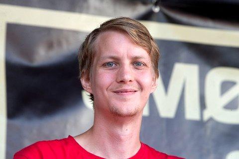Niclas Tokerud er Arbeiderpartiets ordførerkandidat i Øvre Eiker ved valget i 2019.
