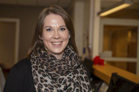 NY ARBEIDSGIVER: Renate Reistad Olsnes har fått ny arbeidsgiver i «nye» Drammen kommune. Hun skal jobbe på «innbyggerkontakten» i Mjøndalen.