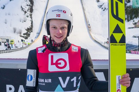 GLEDER SEG: Burud-gutten Anders Håre er klar for verdenscup-innledning i Polen.