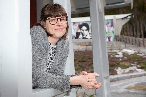 Hanne Prøis Kristiansen fra Skotselv har fått ny jobb på Portåsen i Mjøndalen. Foto: Anders Kongsrud.