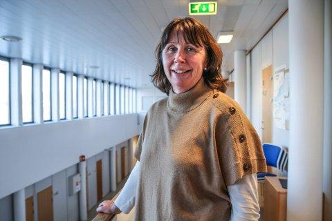 Kommuneoverlege i Øvre Eiker, Anne Aune.