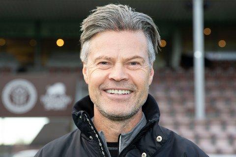 Vegard Hansen er hovedtrener for Mjøndalen fotball. Foto: Anders Kongsrud.