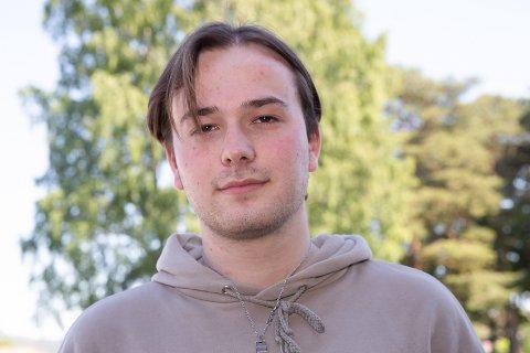 JUBILERER: Brage Andre Abrahamsen fra Hokksund fyller 20 år 25.juni.