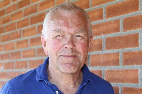 JUBILANT: Kjell Øverby fyller 70 år mandag 20.juli. Krokstadelva-karen er langtfra pensjonist på fulltid, men har mange prosjekter på blokka.