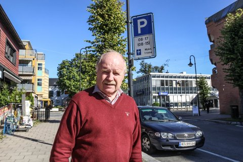 SKUFFA: – Det er virkelig trist i Arbeidergata i Mjøndalen, sier Thor Sigurd Syvaldsen.