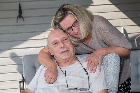 JUBILANT: Francois Soto fra Mjøndalen fyller 70 år 20. august 2020. Kona Gro er en av mange som gratulerer med bursdagen.