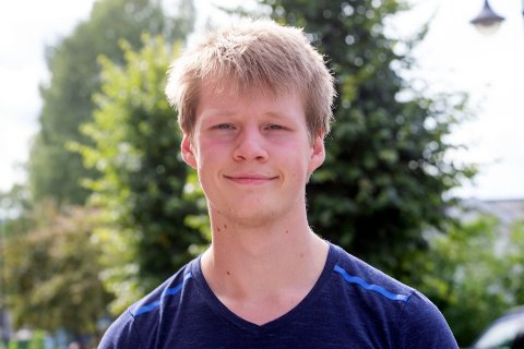 JUBILANT: Torbjørn Thorgersen fra Mjøndalen fyller 20 år 3.september.