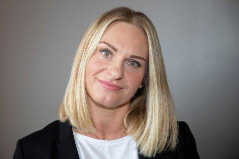 EGEN SJEF: Anna Iwona Tomik driver i Beauty Klinikk i Drammen.