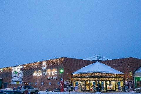 ØKTE: 2020-omsetningen på Eikersenteret var åtte prosent høyere enn året før koronaåret 2020.