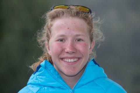 TRAVEL: Helene Marie Fossesholm går ei travel helg i møte med norgescuprenn på Lygna.