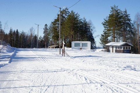 AVLYST: Mjøndalsrennet som skulle vært arrangert i disse skiløypene ved MIF-hytta søndag, er avlyst.