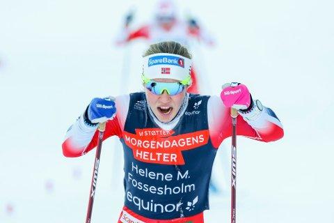 Helene Marie Fossesholm er tatt ut på sykkellandslaget. Foto: Geir Olsen / NTB