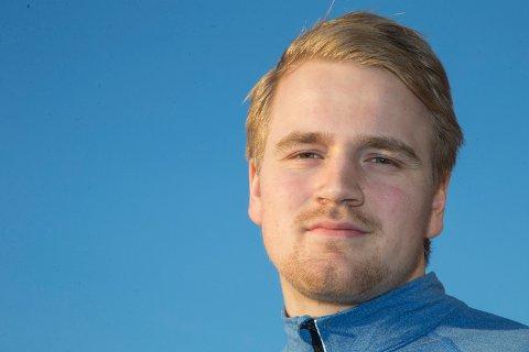 OL-KVAL: Magnus Fredriksen fra Vestfossen spiller OL-kvalifisering med det norske håndballandslaget i helga.