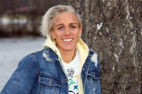 JUBILANT: Anette Svendsen fra Mjøndalen fyller 40 år fredag 19. mars.