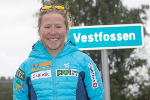 BLI MED: Helene Marie Fossesholm  oppfordrer barn i Øvre Eiker, Drammen, Lier og Kongsberg til å bli med på årets kampanje i regi av Buskerudbyen.